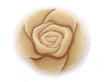 Fimo Cane Polymer Clay Cane Millefiori Cream Rose Cane