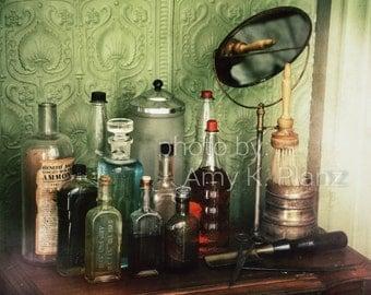 5x7 Retro Medicine Shelf Photo
