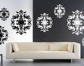Baroque Tapestry vinyl cut out decals pack (set of 9)