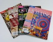 American Patchwork & Quilting Magazines 2003 lot of 4 sewing and craft magazines