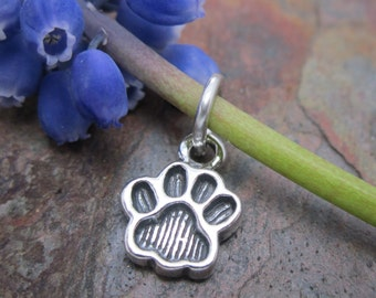 1 PC Sterling Silver Filigree Puppet Paw Pendant with Bail  mm