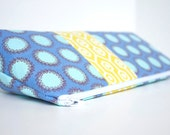 NEW Personalized Cosmetic Makeup Bag - Laurel Dots - Made to Order