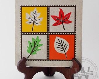 Ceramic Tile With Vinyl Lettering