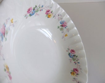 Vintage Serving bowl, W S George Bolero, Floral pattern Dish