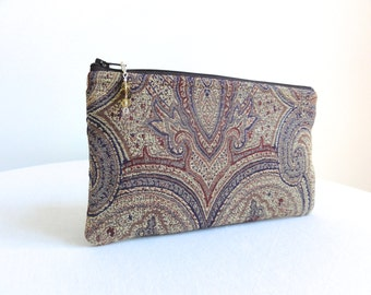 Paisley Clutch - Small Evening Bag - READY TO SHIP