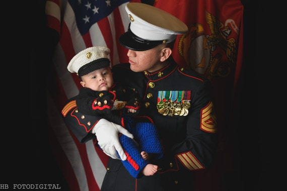 Marine Corps Marine Costume usmc Marine by babypropsbyconnie