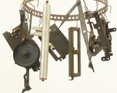 16 salvaged typewriter parts for your assemblage Steampunk project