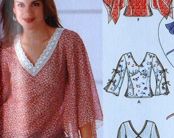 Top Sewing Pattern UNCUT Simplicity 5595 Sizes 12-20