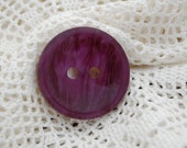 Vintage large  Button - 1 Coat Button from 1960s