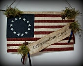 Let Freedom Ring Flag Banner ~ MADE TO ORDER
