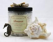 Throat Chakra Dead Sea salt- Saraswati blend for Expression -  8 oz