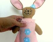 Bunny Princess - Girl's Stuffed Bunny - Easter