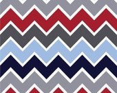 Custom Boutique (Sporty Chevron) Shopping Cart Cover -comes with a pillow and a safety belt