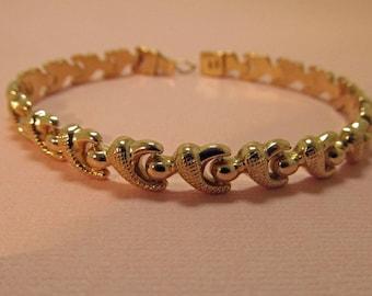 18K Gold Bracelet Modernist