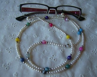 Cool and Classy Beaded Eyeglass Leash Free US Shipping