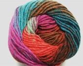 Noro Kureyon Fuschia Teal Brown Purple Wool Yarn Per Skein 326 Lot E
