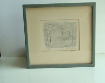 Original Art,  trees and meadow