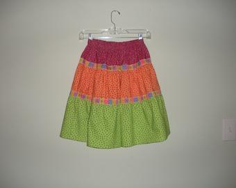 Girl's peasant skirt