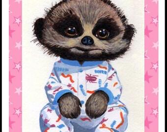 Knitting Pattern For Baby Oleg : Popular items for meerkat toy on Etsy