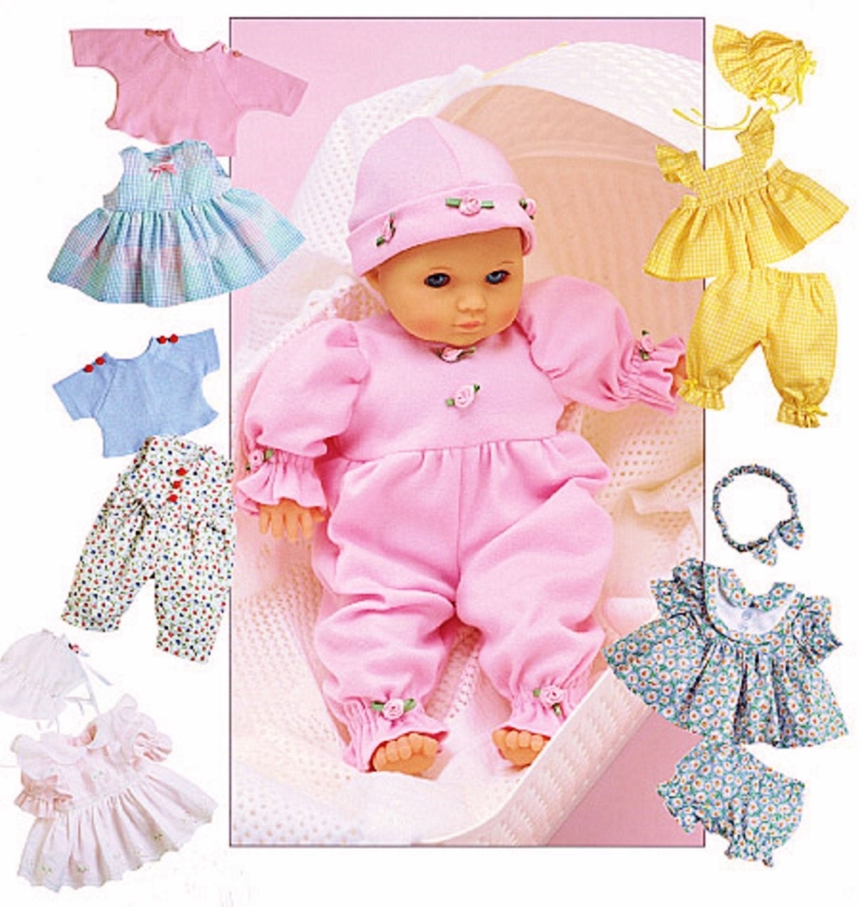 Free  Inch Baby Doll Clothes Sewing Patterns