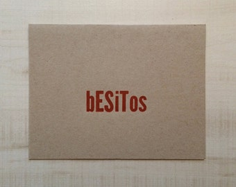 Besitos / Kisses