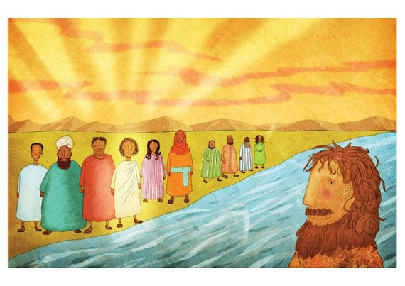 The Jesus Storybook Bible - 72 dpi Digital File (Page 204 - 205)