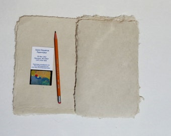 NEW 6 x8 inch natural abaca kozo paper