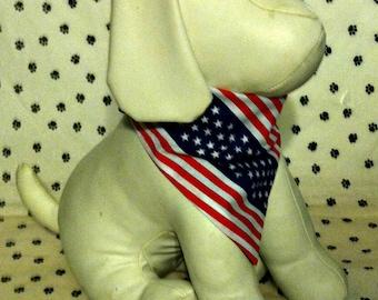 Dog Bandana, Patriotic, Independence, July 4, neckerchief, scarf