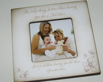 Grandparent Photo Picture Frame for Grandmother / Nana / Grandma / Grammie from Grandchild / Granddaughter / Grandson