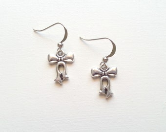 Cute and Simple Bow Earrings