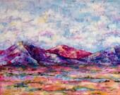 16 x 20 Impasto  Acrylic Landscape