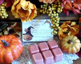 Pumpkin Pie Soy Melts, Pumpkin Pie Tarts, Fall Tarts, Christmas Tarts