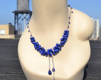 amazing lapus lazuli necklace!