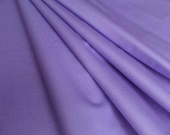 Quilting Fabric Hydrangea Purple RJR Fabrics Cotton Supreme Solids 9617-214