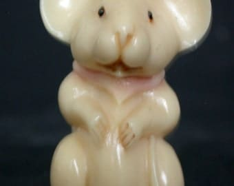 Vintage Japanese netsuke -Little Mickey Mouse standing tall