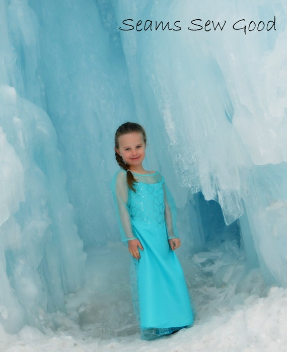 Princess Elsa Dress from Frozen for girls
