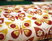 Organic cotton fabric, dyed with plants, GOTS, Germany, 1/2 yard