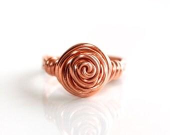 Rose Ring * Flower Ring * Floral Ring * Floral Jewelry * Flower Jewelry * Rose Jewelry * Romantic Jewelry * Ring Flower.*Fit of Romanticism*