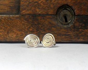 Swirl Stud Earrings