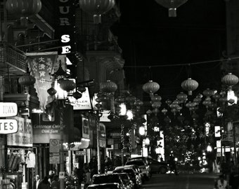 The Soul in Chinatown, San Francisco Photo,Chinatown photo,Chinatown Image,Black And White Image,8x12 Image,8x12 Print
