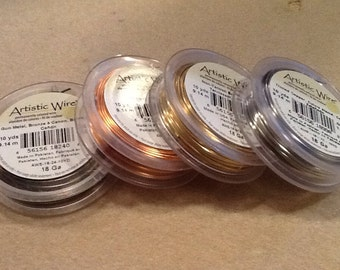 18ga Artistic wire 10 yards your choice of colors