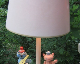 Put a Little light in you Babys room Sweet Chic Lamp Owl Boat Bee Pink Kitty