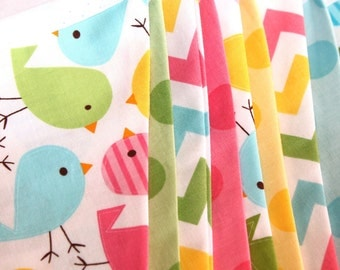 Large Fabric Bunting - Spring Chicks