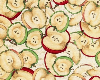 Apple Slices Orchard - Cranston Village - 1 yard - Last Available - Rare Out of Print