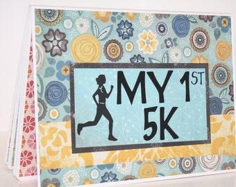 Runner's Race Bib Book - My 1st 5K