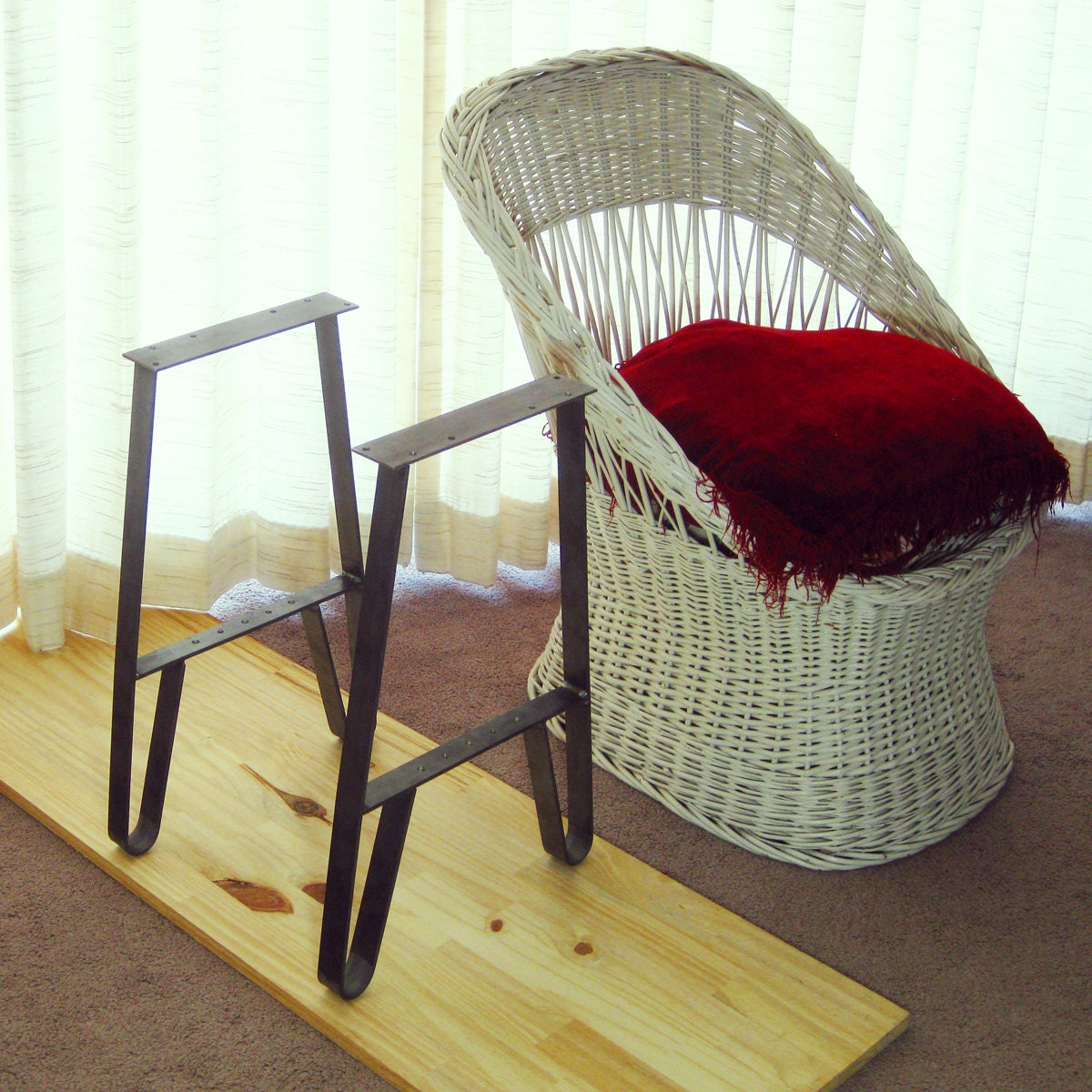 End table metal legs side table legs and chair side tables 10 for Metal end table legs
