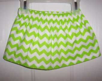 Girls twirl chevron skirt. many colors to pick from  infant to 8 years