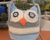 Crochet Owl toy stuffed amigurumi, made to order