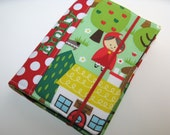 Crayon Wallet - Into the Forest Red Riding Hood - Personalization available