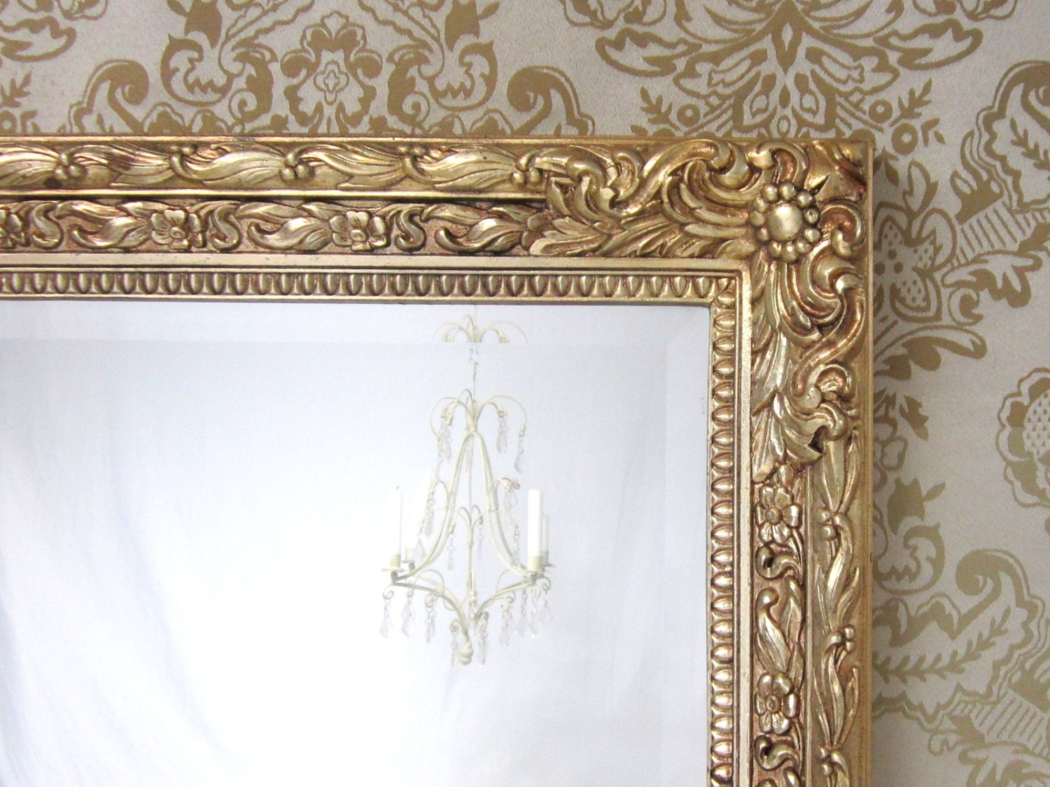 Vintage framed mirrors for sale large gold framed mirror for Large wall mirrors for sale